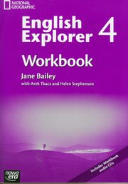ksiazka tytuł: English Explorer 4 Workbook with CD autor: Bailey Jane, Tkacz Arek, Stephenson Helen