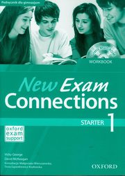 ksiazka tytuł: New Exam Connections 1 Starter Workbook autor: Vicky George, McKeegan David