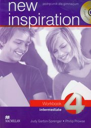 ksiazka tytuł: New Inspiration 4 Intermediate Workbook + 2CD autor: Garton-Sprenger Judy, Prowse Philip